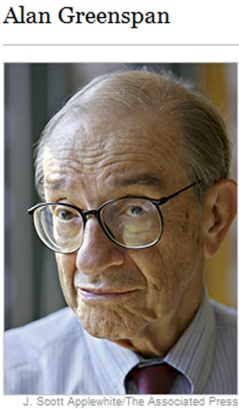 Alan Greenspan-Chairman of the Federal Reserve of the United States from 1987 to 2006