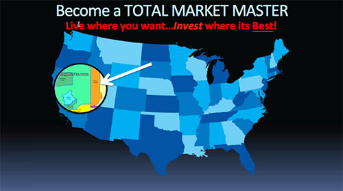 Become a Total Market Master - Live Where You Want... Invest Where Its Best Reno Nevada