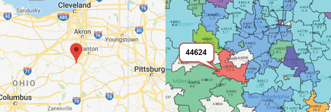 Hottest Zip Codes for Real Estate Investing #7.Dundee, Ohio 44624