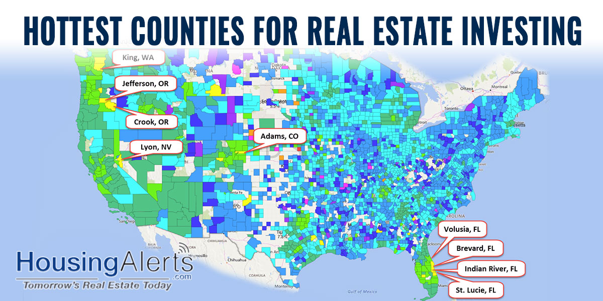Hottest Counties for Real Estate Investing