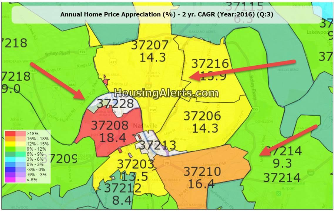 Pin Pointing Hot Zip Codes in Cities with Strong Master Scores